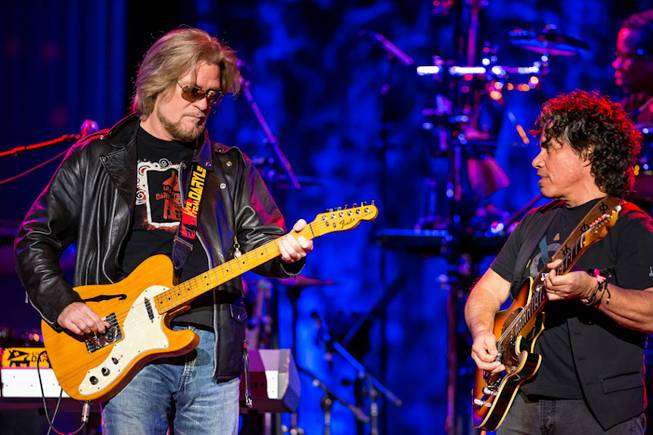 Hall & Oates -- Daryl Hall and John Oates -- perform at the Joint in the Hard Rock Hotel on Thursday, Sept. 20, 2012.