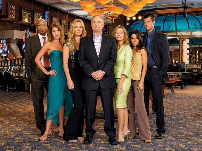 "NBC series ""Las Vegas"" starring James Caan."