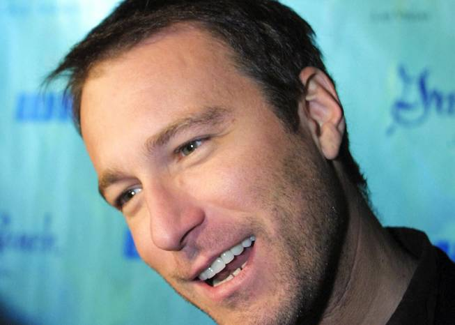 John Corbett at Green Valley Ranch Station Casino on December 18, 2001.