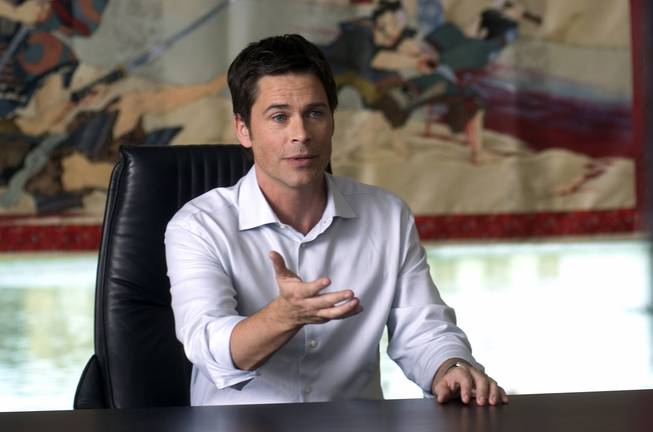 Rob Lowe played Dr. Billy Grant in the CBS series Dr. Vegas.