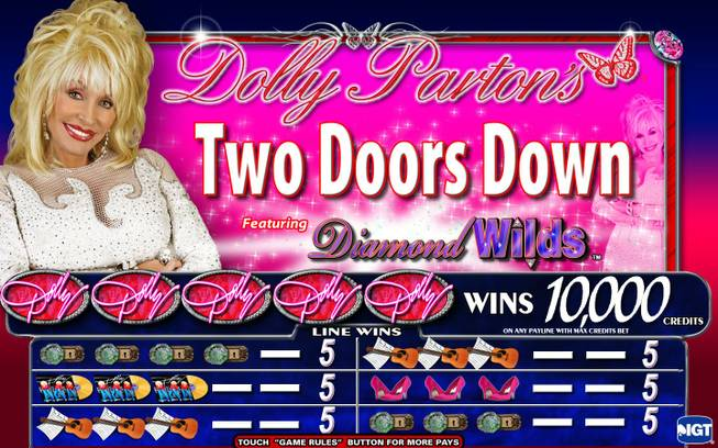 A Dolly Parton-themed slot machine will be unveiled at the Global Gaming Expo by manufacturer IGT Oct. 2-4 in Las Vegas.