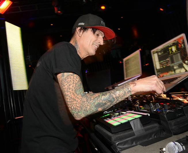 Tommy Lee at Body English on Friday, Sept. 27, 2013, ...