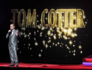 "Tom Cotter performs during ""America's Got Talent Live"" at the Palazzo on Thursday, Sept. 27, 2012."