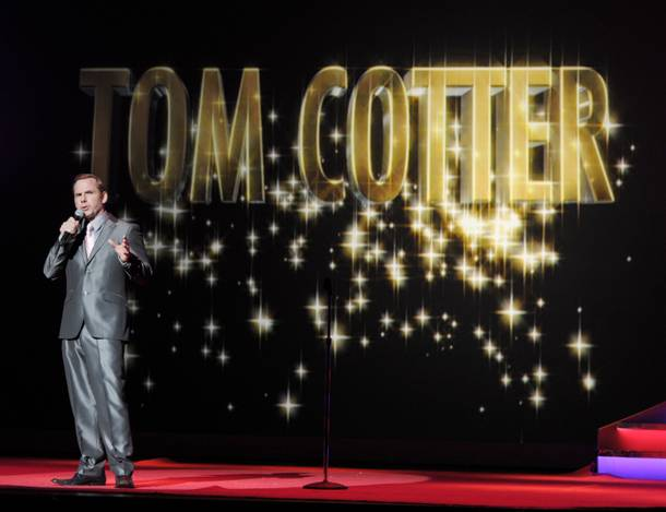 Tom Cotter performs during