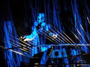 "William and the Earth Harp during ""America's Got Talent Live"" at the Palazzo on Thursday, Sept. 27, 2012."