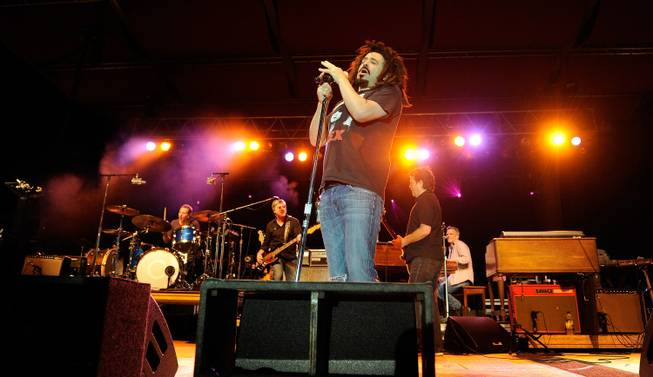 Drummer Jim Bogios, bassist Millard Powers, singer Adam Duritz and ...