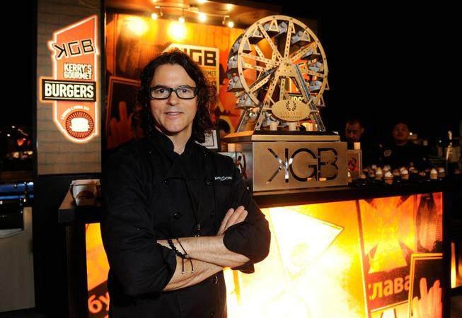 Chef Kerry Simon at the Epicurean Charitable Foundation's 11th Annual ...