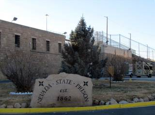 Nevada State Prison is seen Monday, Jan. 9, 2012, in Carson City.