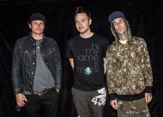 Blink-182 at the Cosmopolitan of Las Vegas' Boulevard Pool on Friday, Sept. 28, 2012.