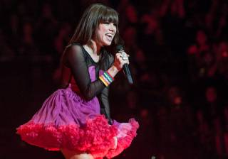 Carly Rae Jepsen opens for Justin Bieber at MGM Grand Garden Arena on Sunday, Sept. 30, 2012. Australian teen pop singer Cody Simpson joined Jepsen onstage.