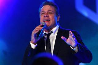 Crooner Mark OToole performs at Vinyl at the Hard Rock Saturday, Oct. 6, 2012.