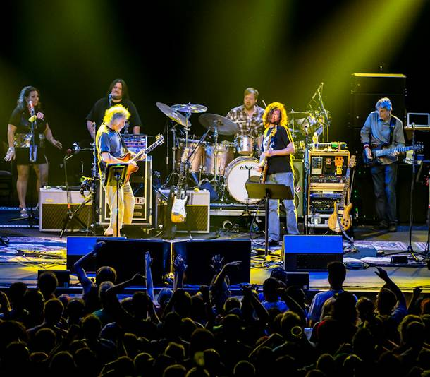 Furthur, featuring Bob Weir, Phil Lesh, John Kadlecik, Jeff Chimenti, Joe Russo, Sunshine Becker and Jeff Pehrson, at the Joint in the Hard Rock Hotel on Thursday, Oct. 4, 2012.