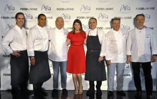 Day 2 of the 2012 Food & Wine All-Star Weekend on Saturday, Oct. 6, 2012.