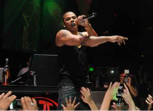 Nelly Hosts, Performs at Haze