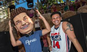 DJ Pauly D Spins at HRH's Rehab
