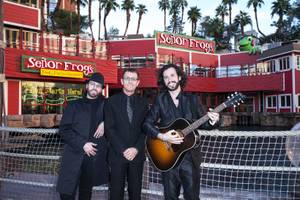 The Australian Bee Gees at Senior Frog's in Treasure Island.