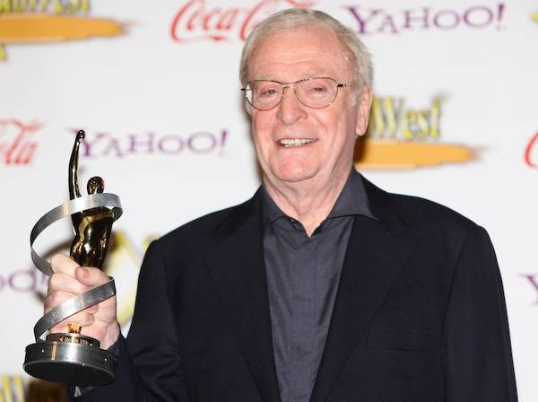 Michael Caine is a two-time Academy Award winner.