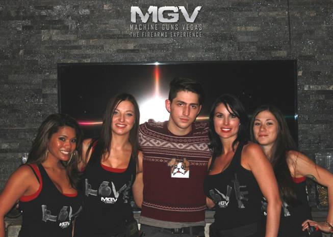 DJ Porter Robinson at Machine Guns Vegas.