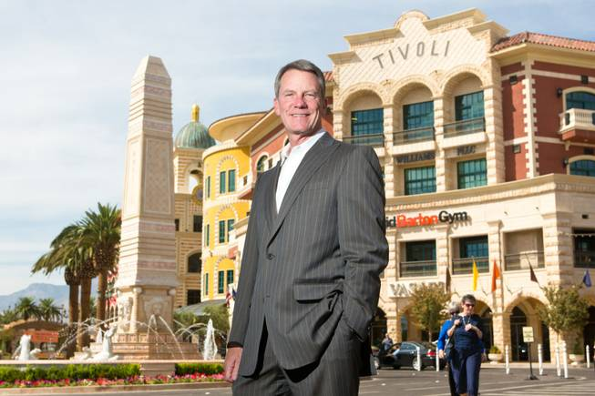 Patrick Done, President of Tivoli Village, Thursday Oct. 4, 2012.