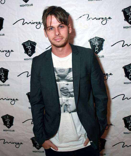 DJ Mark Foster of Foster the People at 1 OAK ...