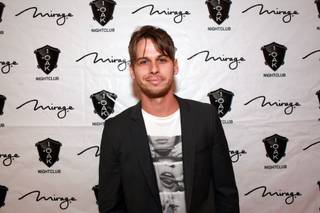 DJ Mark Foster of Foster the People at 1 OAK in the Mirage on Saturday, Oct. 13, 2012.