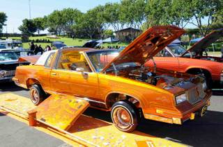 The Go Lo Lowrider Super Show 2012 with outdoor car exhibits, indoor showroom-style exhibits and car-bouncing competitions at Cashman Center on Sunday, Oct. 14, 2012.
