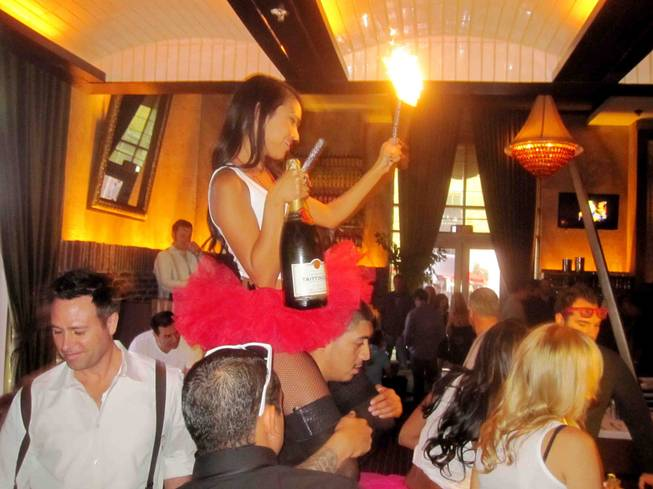 Season 2 of Lavo Champagne Brunch kicks off at the Palazzo on Saturday, Oct. 13, 2012.