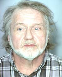Patrick Newell, 61, was arrested Oct. 10 for allegedly lighting a man on fire at a Las Vegas gas station.