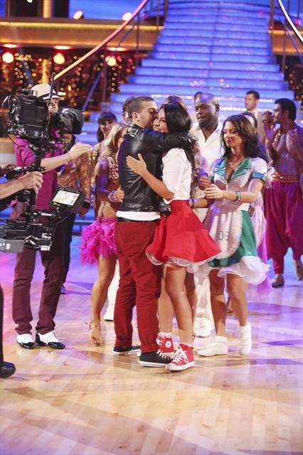 "Mark Ballas and Bristol Palin are eliminated on ABC's ""Dancing With the Stars"" on Tuesday, Oct. 16, 2012."