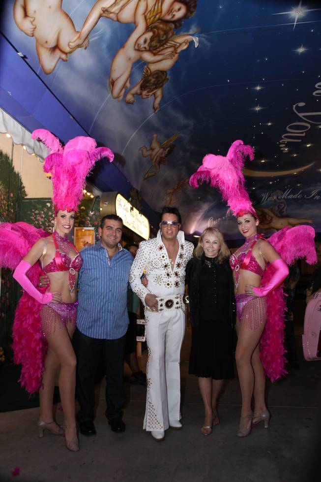 "Buddy Valastro of ""Cake Boss"" and Las Vegas-based Elvis Presley tribute artist Jesse Garon."