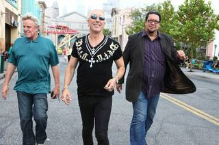 Gary Busey, Dee Snider and Penn Jillette on