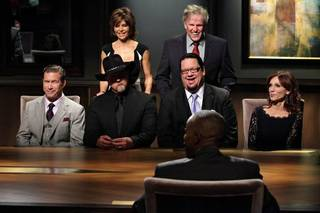 Stephen Baldwin, Trace Adkins, Lisa Rinna, Penn Jillette, Gary Busey, Marilu Henner and Arsenio Hall on Episode 3 of
