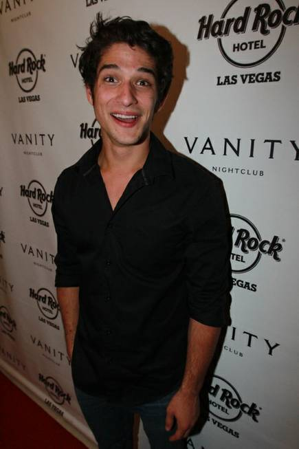 Tyler Posey celebrates his 21st birthday at Vanity in the ...