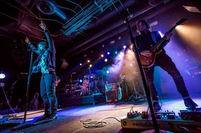 Switchfoot performs at Vinyl in the Hard Rock Hotel on ...