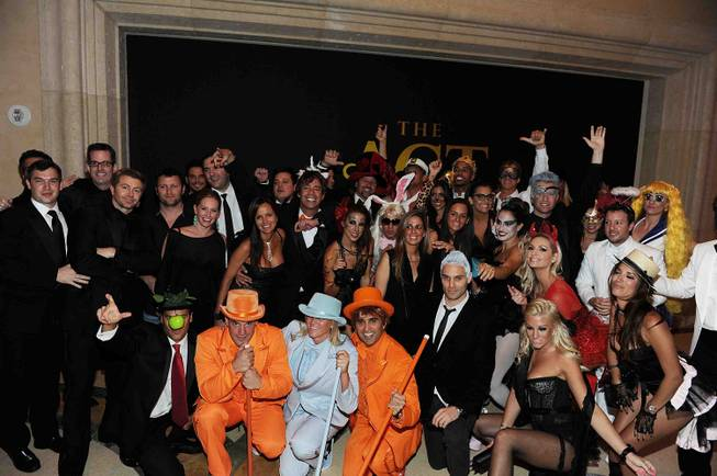 The grand opening of Simon Hammerstein's the Act Las Vegas ...