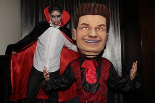 DJ Pauly D celebrates Halloween at Rehab and Vanity's Sinners Ball in the Hard Rock Hotel on Sunday, Oct. 28, 2012.