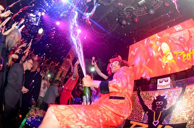 Redfoo hosts and performs at Tao in the Venetian on ...