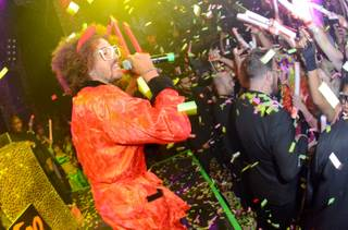 Redfoo hosts and performs at Tao in the Venetian on Saturday, Oct. 27, 2012.