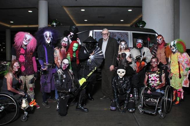George Romero at Fright Dome at Circus Circus.