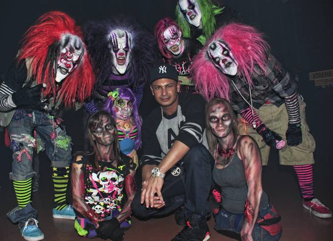 DJ Pauly D at Fright Dome at Circus Circus.