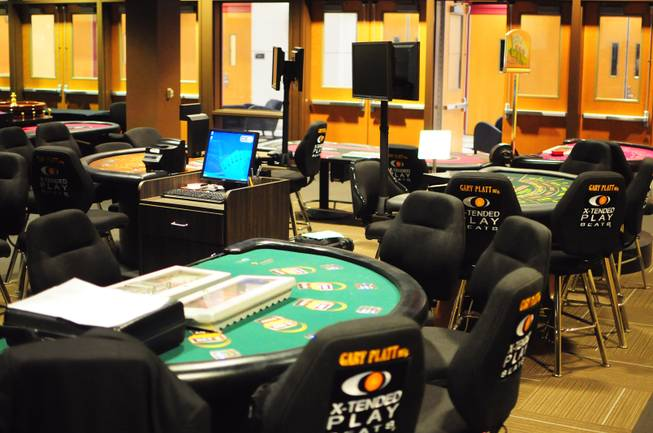 UNLV's Konami Gaming Lab is shown on Tuesday, Oct. 30, 2012. The gaming lab gives students hands-on experience in casino management.