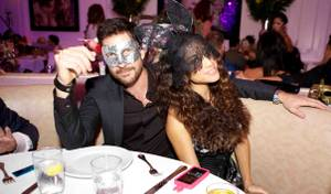2012 Halloween: Bagatelle's 'Night of Masks' With Dylan McDermott
