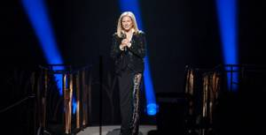 "Barbra Streisand's ""Back to Brooklyn"" tour stop at MGM Grand Garden Arena on Friday, Nov. 2, 2012."