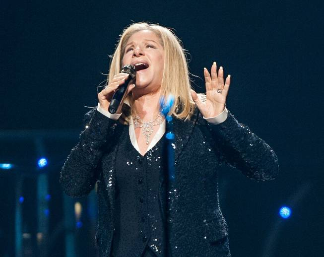 Barbra Streisand at MGM Grand Garden Arena