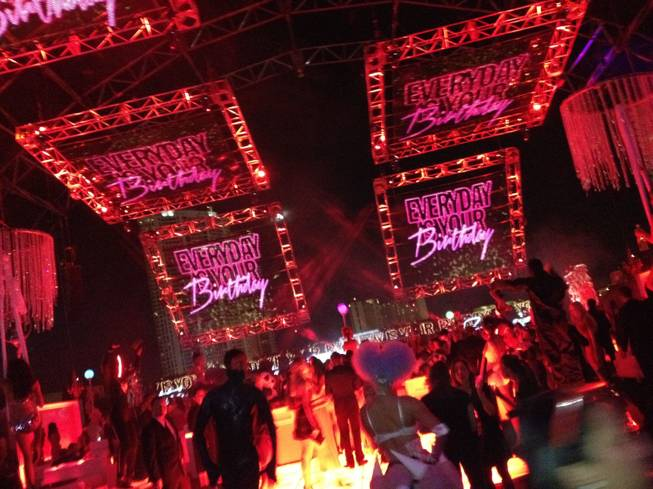The super-private VIP party of the year in Las Vegas on Saturday, Nov. 3, 2012.
