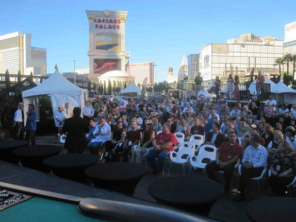 The inaugural 2012 World Food Championships Final Table at Caesars Palace on Sunday, Nov. 4, 2012.