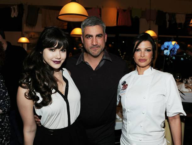 Claire Sinclair, Taylor Hicks and Carla Pellegrino attend a wine-pairing dinner, benefiting Henderson Boys and Girls Club, at Bratalian on Monday, Nov. 5, 2012.