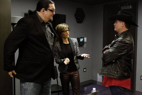 Penn Jillette, Lisa Rinna and John Rich on NBC's