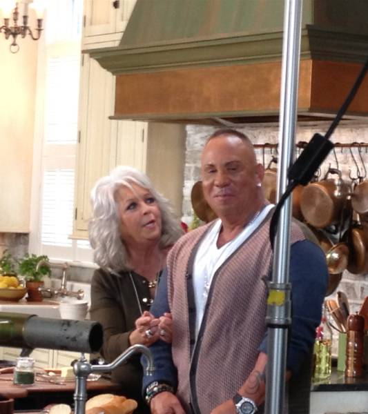 Paula Deen and Steve Martorano.