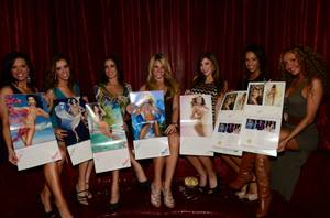 2013 Fantasy Calendar Release Party at LAX